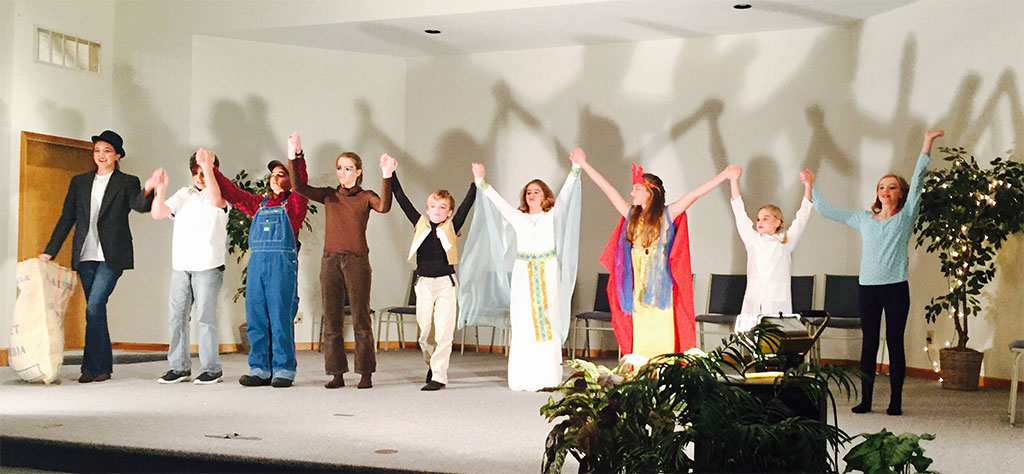 ACT - Agape Celebrates Theatre was introduced in September with auditions followed with 6 weeks of theatre practice. Nine talented students made their official debut with 2 performances of A Bagful of Fables in November 2016.