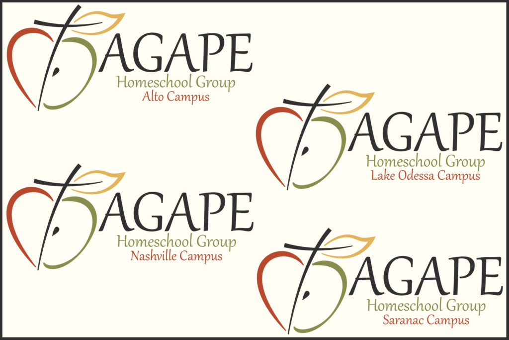 Agape Homeschool Group grew from 1 campus to 4 campuses for Fall Semester 2016! Our community continued to grow and we have once again outgrown our current location. Offering classes, events and opportunities to connect at our home location of Lake Odessa as well as the new campus additions of Saranac, Nashville and Alto.