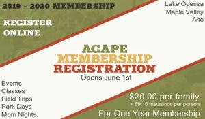 2019 2020 Membership Registration Information