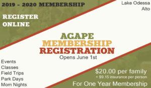 Agape Membership Registration